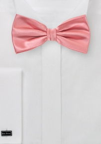 Mens Bow Tie in Tulip Pink