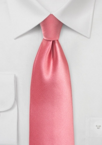 Solid Kids Tie in Tulip Pink