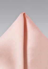 Pocket Square in Blushy Peach
