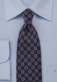 Vintage Patterned Designer Tie