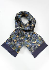 Elegant and Colorful Men's Silk Scarf