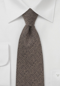 Brown Barleycorn Men's Necktie