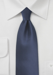 Eclipse Blue Mens Tie in XL Length