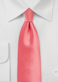 Sugar Coral Color Tie in XL