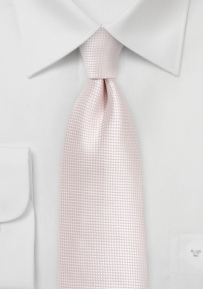 Powdered Blush Necktie in XL