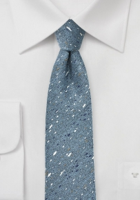 Autumn Skinny Tie in Infinity Blue