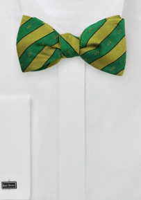 Freestyle Bow Tie for Alpha Gamma Rho in Pure Silk