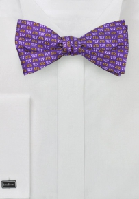 Delta Tau Delta Self Tie Bowtie in Silk
