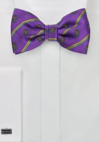 Lambda Chi Alpha Crested Bow Tie