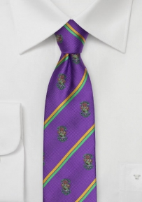 Lambda Chi Alpha Crested Skinny Tie