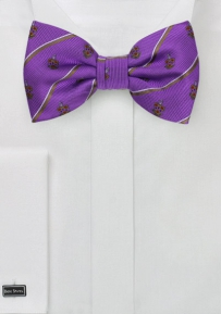 Phi Gamma Delta Striped Bow Tie