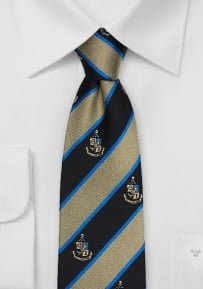 Phi Kappa Sigma Striped Silk Necktie