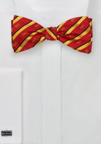 Self Tied Bowtie for Phi Kappa Tau in Pure Silk
