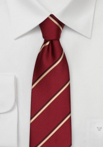 Crested Skinny Tie for Pi Kappa Alpha