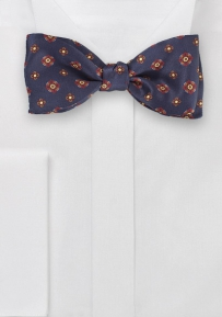 Dapper Self Tied Floral Bow Tie