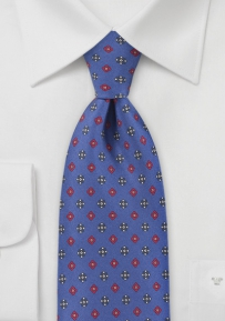 Diamond Tie in Vibrant Blue