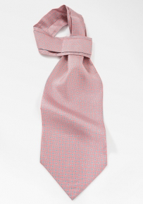 Pink Ascot with Blue Accents