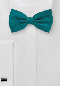 Bow Tie in Pacific Blue with Stripes