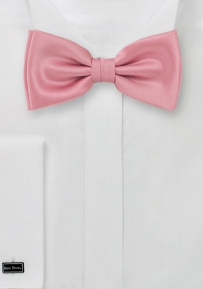 Solid Color Bow Tie in Candy Pink