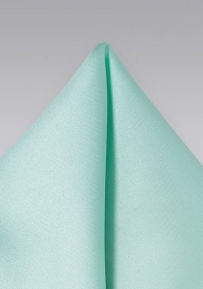 Elegant Pocket Square in Glacier Blue