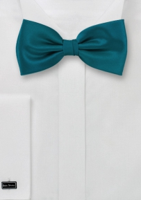 Designer Bow Tie in Peacock