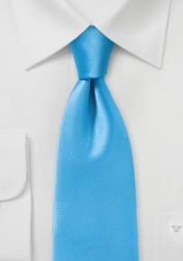 Vibrant Malibu Tie in Solid Color