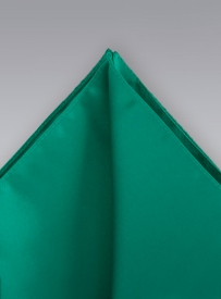 Solid Sea-Green Handkerchief