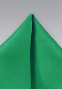 Men's Handkerchief in Emerald Green
