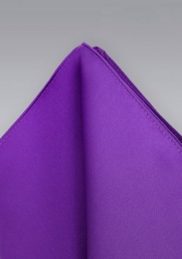 Solid Purple Handkerchief