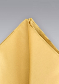 Golden Amber-Yellow Handkerchief