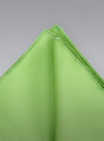 Solid Lime Green Handkerchief
