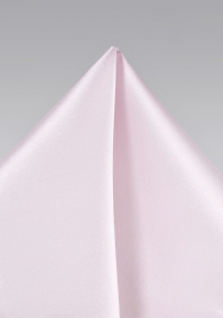 Light Blush Pink Pocket Square