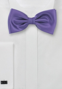 Solid Freesia Bow Tie for Men