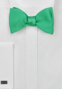 Freestyle Bow Tie in Firefly Green