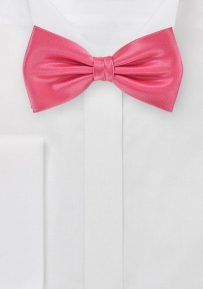 Coral Summer Bow Tie