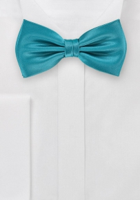 Bright Adriatic Blue Bowtie