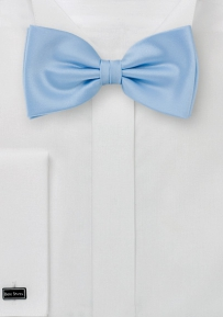 Mens Bow Tie in Light Powder-Blue