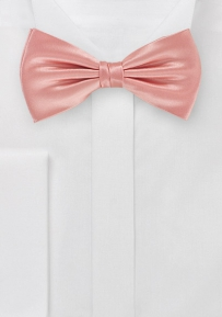 Silk Bow Tie in Victorian Pink