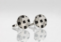 Knot Cuff Links in Silver