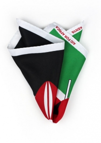 Pocket Square Kenyan Flag