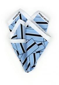 Pocket Square Botswana Flag