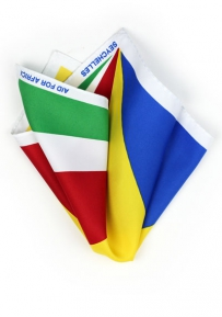 Pocket Square Seychelles Flag