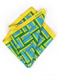 Pocket Square Rwandan Flag