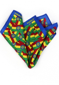 Pocket Square Ethiopian Flag