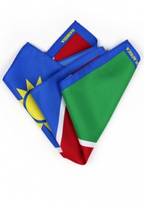 Pocket Square Namibian Flag