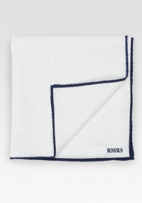 RMRS Limited Edition Linen Pocket Square