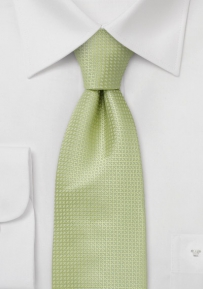 Light Green Kids Necktie