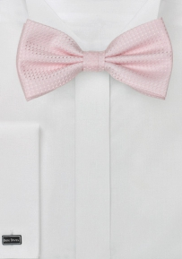 Light Pastel Pink Mens Bow Tie