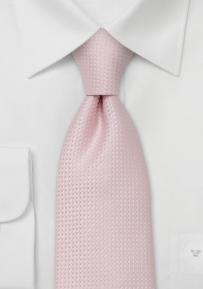 Kids Tie in Cherry Blossom Pink