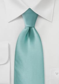 Summer Silk Tie in Mint Green